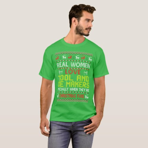 Tool Die Makers Christmas Fans Ugly Sweater Tshirt After Christmas Sales 2580