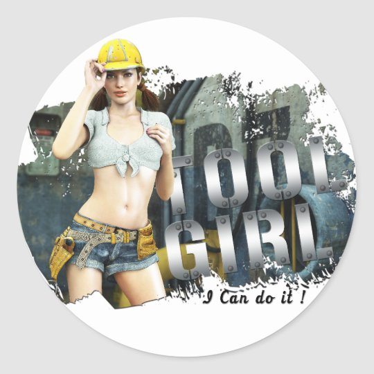 Tool Girl Lana Sticker