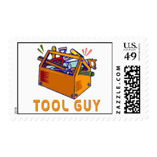 TOOL GUY POSTAGE STAMP
