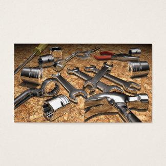 Tool Theme Business Card