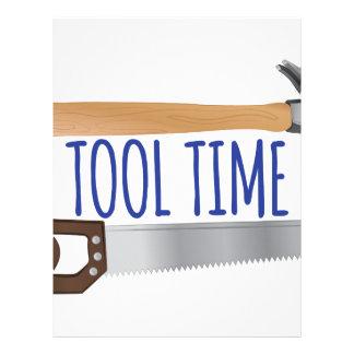 Tool Tiime Letterhead