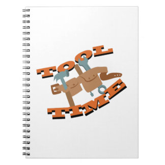 Tool Time Belt Spiral Notebook