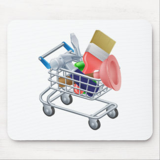 Tool trolley mouse mats