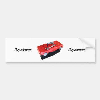 Toolbox Bumper Sticker