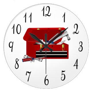 Toolbox Large Clock