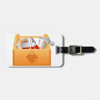 Toolbox Luggage Tags