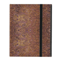 Tooled Leather Design iPad 2/3/4 Case