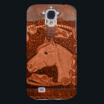"Tooled Leather &quot;Horse&quot; Western IPhone 3 Case<br><div class=""desc"">This beautiful Tooled Leather and Horse image adds a wonderful western accent to this IPhone 3 Case.</div>"