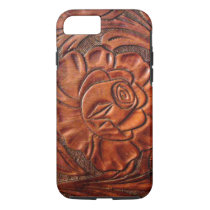 Tooled Leather iPhone 7 case