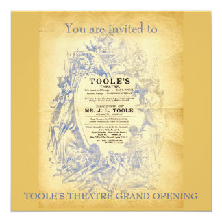 Toole's Theatre Card