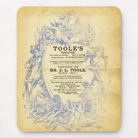 Toole's Theatre Mouse Pad