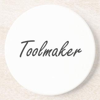 Toolmaker Artistic Job Design Drink Coasters