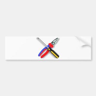 Tools Bumper Sticker