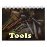 Tools Wall Calendar