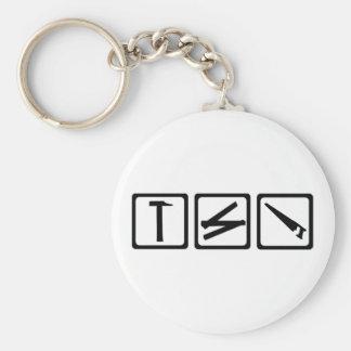 Tools - carpenter keychain