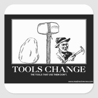 Tools Change- Sticker