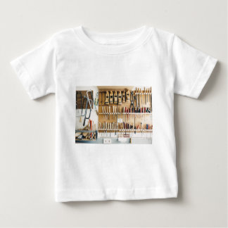 Tools DIY enthusiast Dad Fathers Day Baby T-Shirt