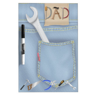 Tools Father's Day Dry Erase Board