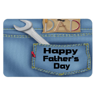 Tools Father's Day Flexible Magnets