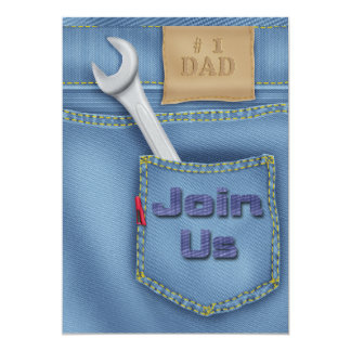 Tools Father's Day Party Invitations