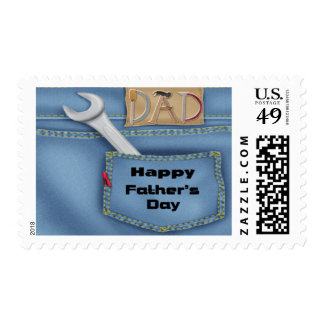 Tools Father's Day Postage Stamps