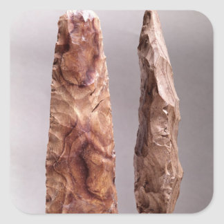 Tools from Campigny, 6000-2000 BC Square Sticker