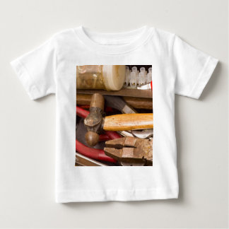 Tools in a messy toolbox baby T-Shirt