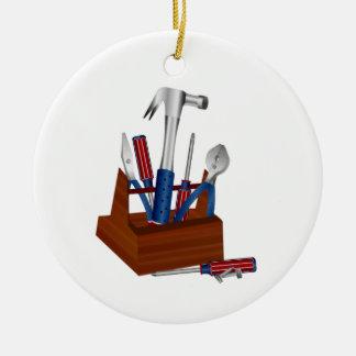 Tools of a Homeowner Ceramic Ornament