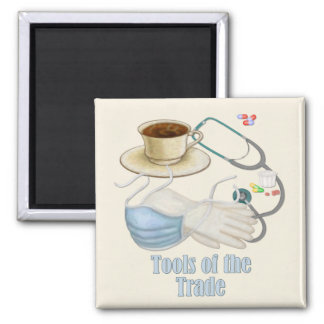 Tools of the Trade 2 Inch Square Magnet