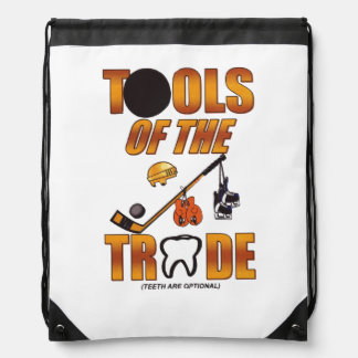 TOOLS OF THE TRADE DRAWSTRING BACKPACK