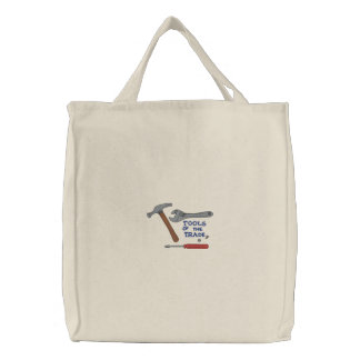 Tools of the Trade Embroidered Tote Bag