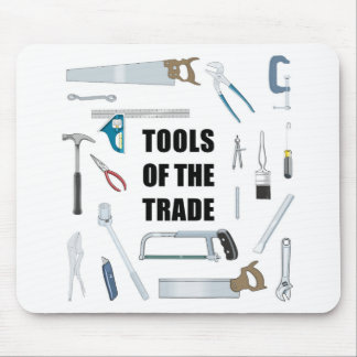 Tools of the trade: Hardware used by handyman Mouse Pad
