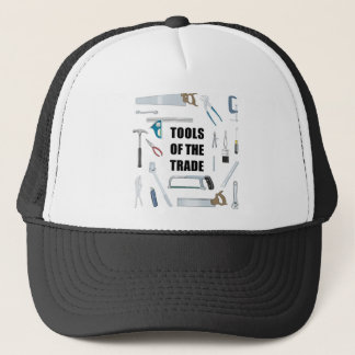Tools of the trade: Hardware used by handyman Trucker Hat