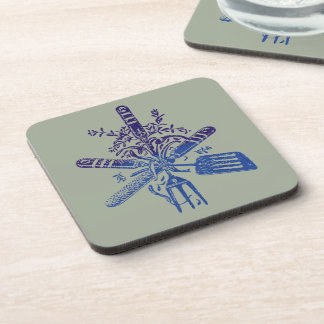 Tools of the Trade Ombre Style Beverage Coaster