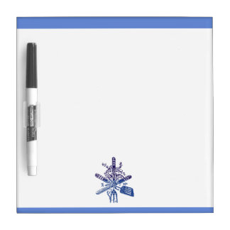 Tools of the Trade Ombre Style Dry Erase Board