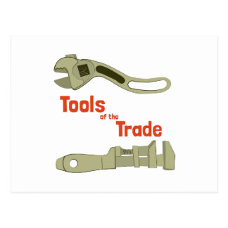 Tools of the Trade Post Card