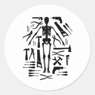 Tools Of Torture Classic Round Sticker