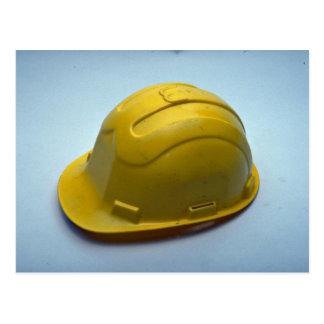 Tools of Trade- Hard hat Post Card