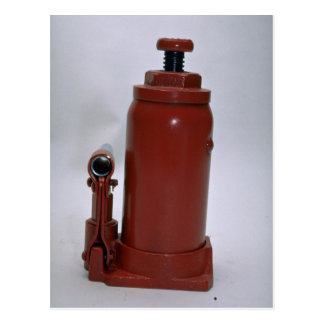 Tools of Trade- Hydraulic jack Post Card
