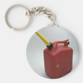 Tools of Trade- Red gas can Basic Round Button Keychain