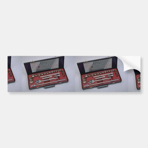 Tools of Trade- Socket set Bumper Sticker