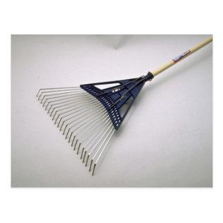 Tools of Trade- Wire rake Postcard