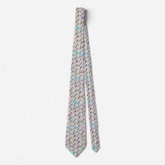 Tools, on medium gray tie