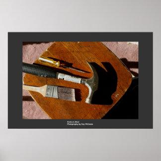 Tools on Stool Print