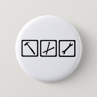 Tools Pinback Button