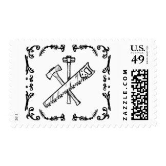 Tools that built a nation, stamp. postage