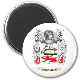 Toomey Family Crest (Coat of Arms) Fridge Magnets