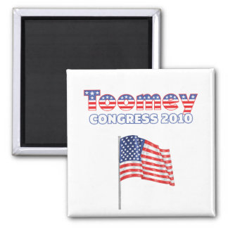 Toomey Patriotic American Flag 2010 Elections Magnets