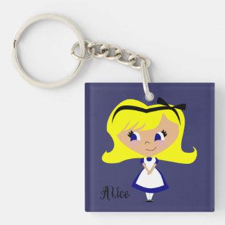 Toon Alice - Alice's Adventures in Wonderland Keychain