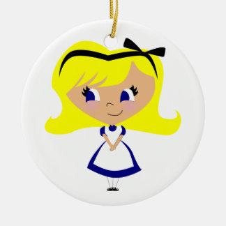 Toon Alice - Alice's Adventures in Wonderland Christmas Ornaments